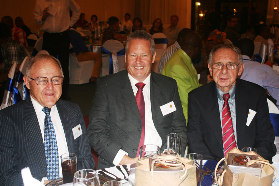 Eddie Brown, James McKerrell and Dave Teron